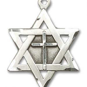 Star Of David with Cross