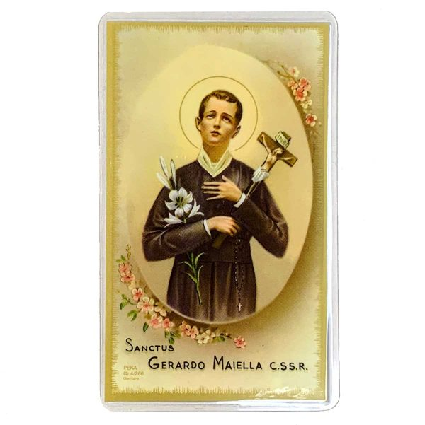 St Gerard Holy Card