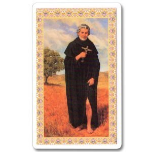 St Peregrine Holy Card