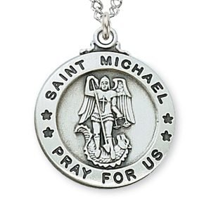 Pewter St Michael Medal
