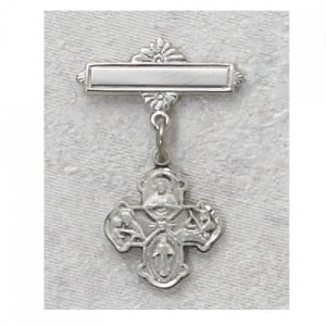 4-Way Baby Pin Sterling Silver