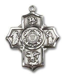 5 Way Coast Guard Medal - 32250