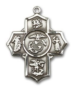 5 Way Marines Medal - 32251