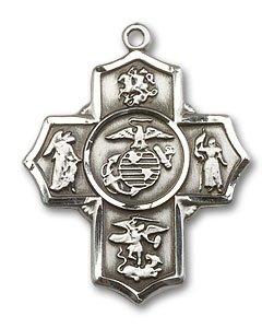 5 Way Marines Medal - 32251