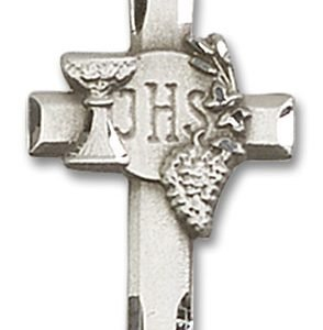 Cross with IHS & Grapes