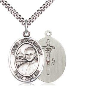 Saint John Paul II Medal in Sterling Silver