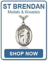 St Brendan Items - Rosaries and Medals