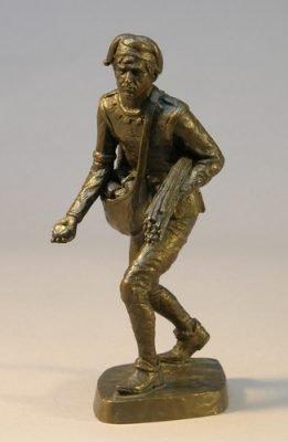 Zwarte Piet or Schmutzli, Companion of St Nicholas
