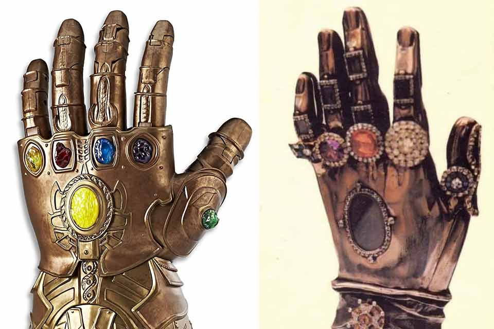 Infinity Gauntlet and Hand of St Teresa of Avila