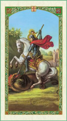 St George Holy Card