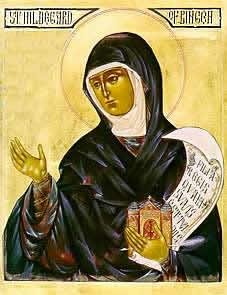 Icon of Hildegard von Bingen