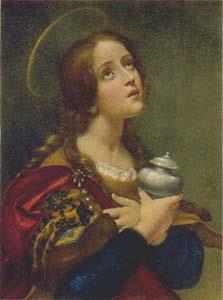 Mary Magdalene Gazing Upward