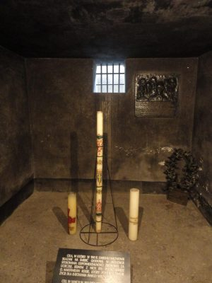 Maximilian Kolbe Cell now a Shrine