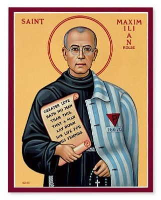 Icon of Maximilian Kolbe