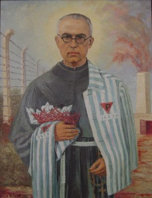 Maximilian Kolbe in Fence