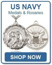 Navy Medals and Rosaries