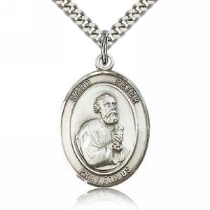 Religious Medal Featuring Saint Peter