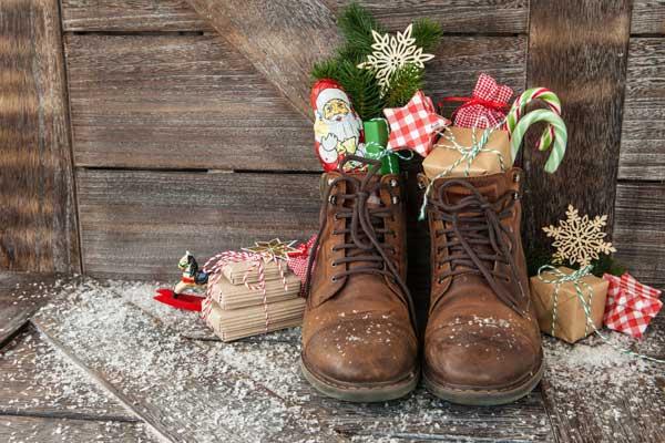 Shoes Set Out For St Nicholas
