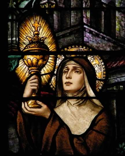 St Clare Stained Glass
