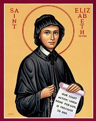 St Elizabeth Ann Seton Icon