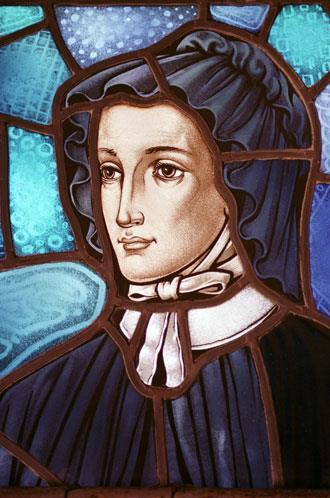 St Elizabeth Ann Seton Stained Glass Window