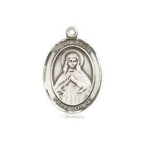 St Olivia Pewter Medal Only