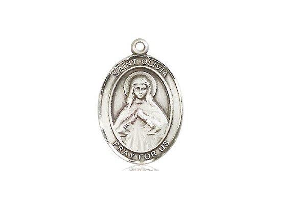 St Olivia Pewter Medal Only