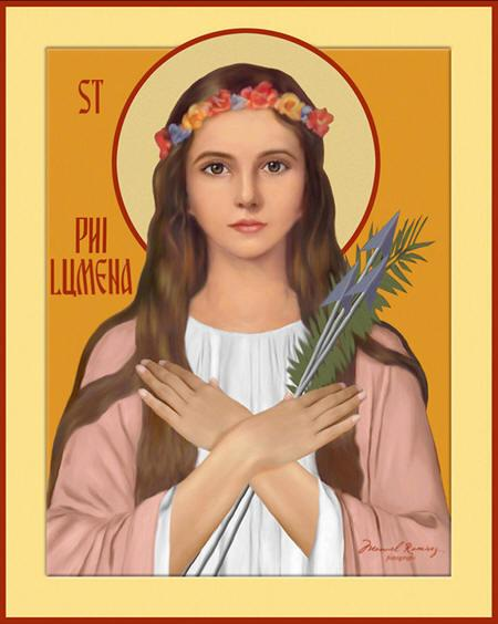 St Philomena Icon