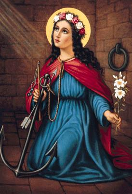St Philomena in Prison