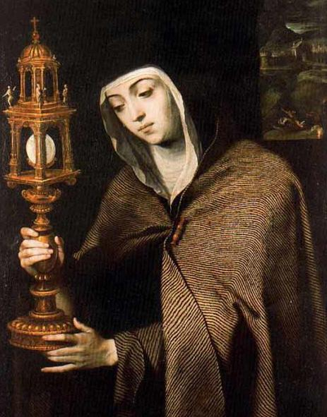 St. Clare with Monstrance