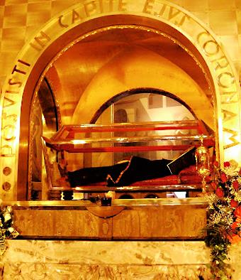 The Tomb of St. Rita