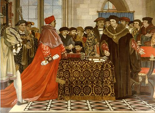 Thomas More at Table