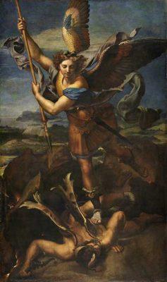 Victory of St. Michael by Raffaelo Sanzio