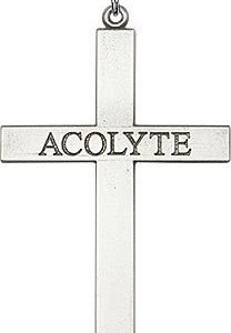 Sterling Silver Acolyte Cross Necklace #87843