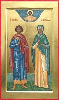 St Adrian Icon