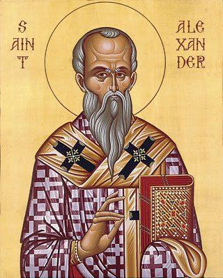 St Alexander Icon