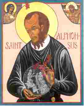 St Alphonsus Liguori Icon