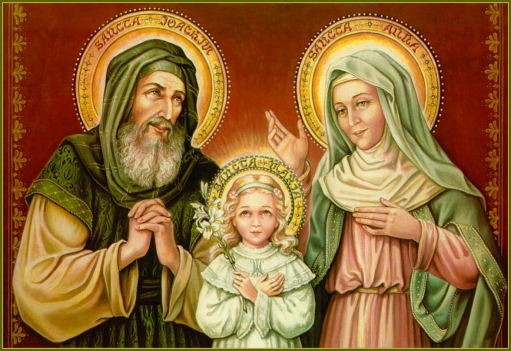 Image of Saints Anne, Joachim and the Blessed Virgin Mary
