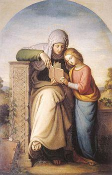 Image of St. Anne with Mary