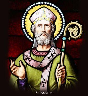 Saint Anselm of Canterbury