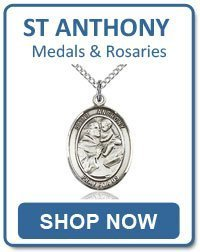 St Anthony of Padua Medals