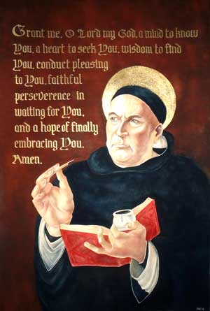 A prayer of St Thomas Aquinas