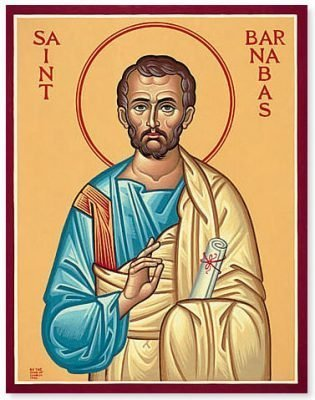 Saint Barnabas Icon