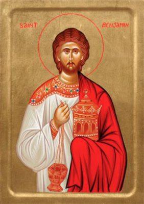 St Benjamin Icon
