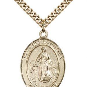 Blessed Karolina Kozkowna Medal - 82640 Saint Medal