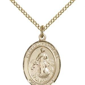Blessed Karolina Kozkowna Medal - 84012 Saint Medal