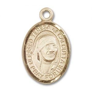 Blessed Teresa of Calcutta Charm - 85223 Saint Medal