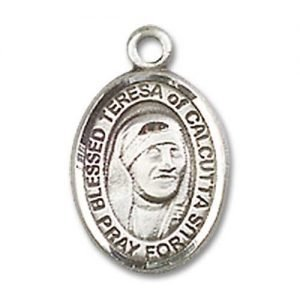 Blessed Teresa of Calcutta Charm - 85225 Saint Medal