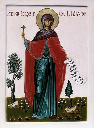 Icon of St Brigid