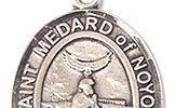 St Medard of Noyon Items